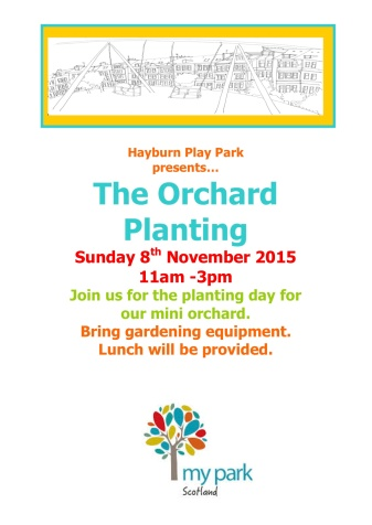 Orchard Planting Poster