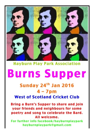 Burns Supper