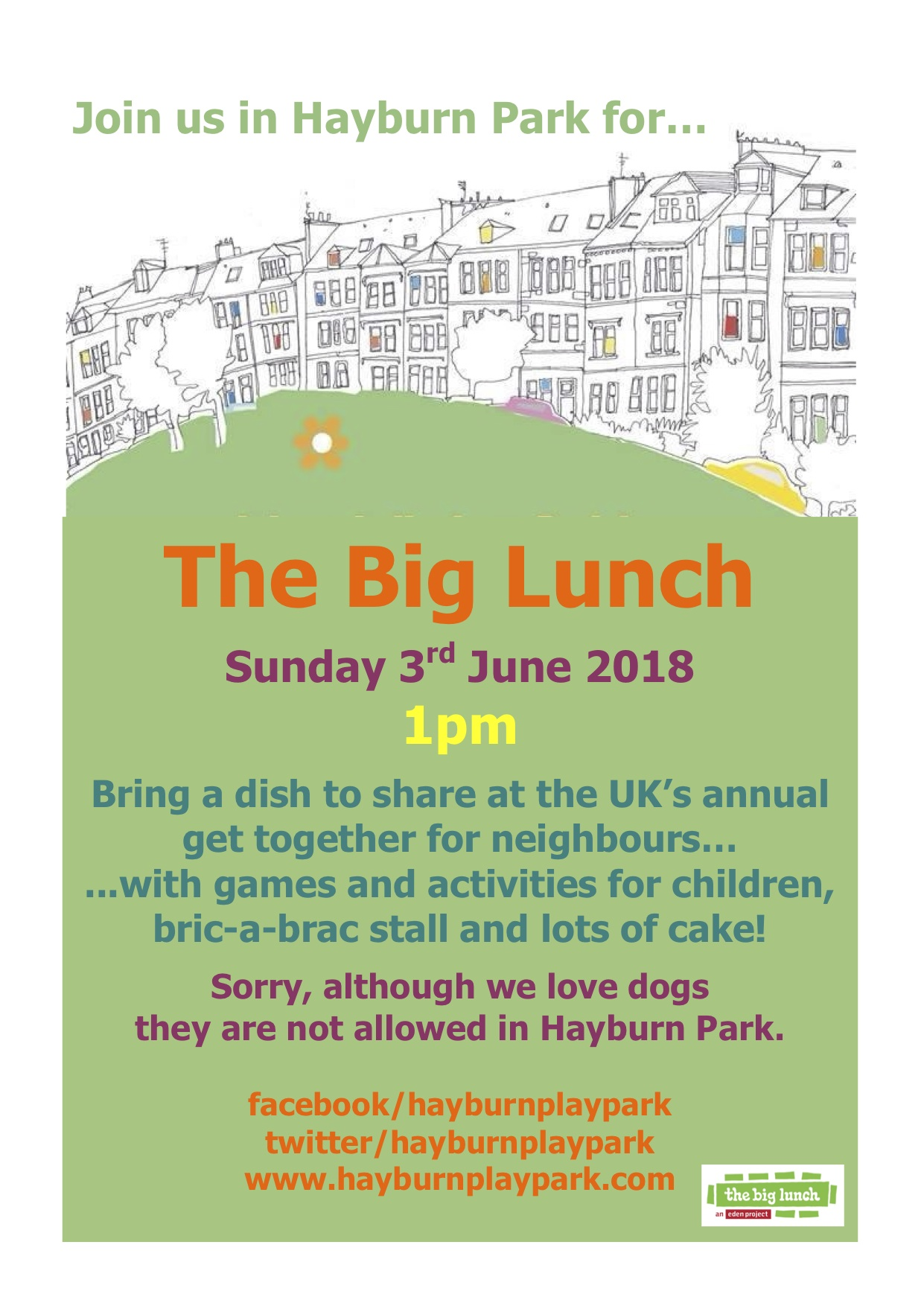 Big Lunch Poster 2018